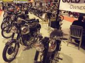 BSA Goldstar Owners Club Stand