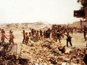 In re-taking Khorramshahr, the Iranians captured some 19,000 soldiers from a demoralized Iraqi Army in 1982.