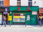 Lee Kee Chinese Restaurant On Parnell Street (Dublin)