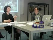 Stéphanie Richard et Alexandre Korber du /tmp/lab de Vitry-sur-Seine