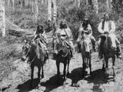 Ute Indians year 1878