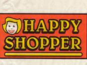 The original Happy Shopper logo