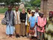 HIV/AIDS Support Group in Rural Kenya