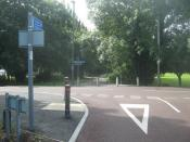 Former Derby Canal, Penalton Close, Upper Moor Road(L) and Brackens Lane (R), Boulton, Derby