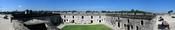 Panorama of the Castillo de San Marcos fort in St. Augustine, Florida, USA. Español: Panorama de la fortaleza de Castillo de San Marcos en St. Augustine, la Florida, los E.E.U.U. Français : Vue panoramique du fort Castillo de San Marcos à Saint Augustine,