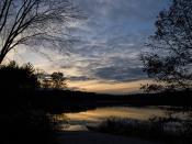 Delaney sunset