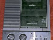 Panasonic answering machine with 2 tapes