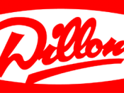The logo of Dillons grocery store.