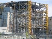English: The fourth reactor bloc of the Chernobyl Nuclear Power Plant in Ukraine.