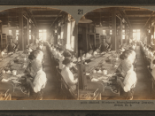 Skilled workers manufacturing jewelry, Providence, R.I, by Keystone View Company