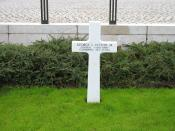 George S. Patton's grave in Hamm, Luxembourg.