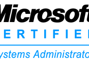 English: Microsoft Certified Systems Administrator