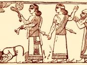 King Jehu of Israel bows before Shalmanezer III of Assyria. With permission from zyworld.com