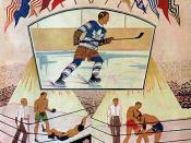 Toronto Maple Leafs opening night program at MLG, November 12, 1931.