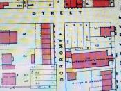 Montréal 1890. Trustees Presbyterian Church, rue Saint-Laurent, près de Bagg Street (actuelle rue Prince-Arthur).
