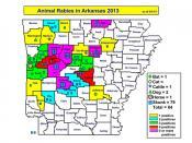 Rabies Map 2013 May