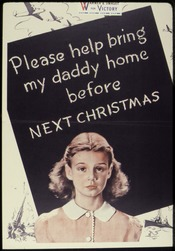 Please Help Bring My Daddy Home Before Next Christmas - NARA - 534316