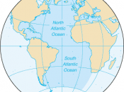North and South Atlantic Ocean