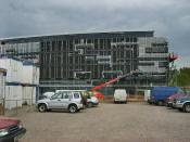 English: Institute of Health and Social Care New building at Anglia Ruskin University