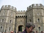 King Henry VIII Gate, Windsor Castle, England