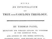 Paine, Thomas. The Age of Reason. Eighteenth Century Collections Online.