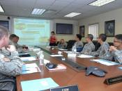 English: Soldiers and Family members participated in the USAG- RC sponsored focus groups Sept. 15 and 16 at the USAG-RC conference room. The Area 1 Garrison Leadership conducted two constituent-centered focus groups as part of the Community Feedback, Issu