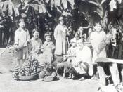 English: Japanese immigrant family in Brazil