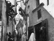 Algiers' casbah, 1900.