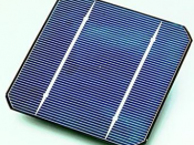 Photovoltaic cells produce electricity directly from sunlight