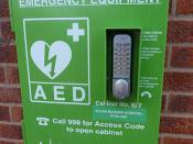 AED: Life Saving Emergency Equipment
