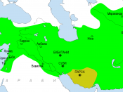 English: Persian Empire at the times of Cyrus II