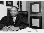 English: image from the official U.S. Court bio Judge Reggie B. Walton, Official U.S. Court bio