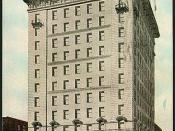 Highest Commercial Building in the British Empire, Traders Bank, Toronto, Ontario, Canada (1910)