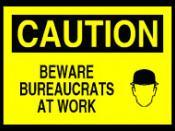 Bureaucrats at work