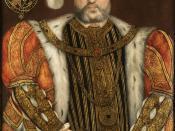 Portrait of King Henry VIII (1491-1547)