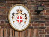 English: Sovereign Military Order of Malta The crest of this order that dates back to the crusades and the Knights Hospitaller (Templars). Full history on Wikipedia.