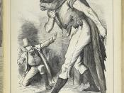 Punch, or the London charivari - caption: 'The Irish Frankenstein.