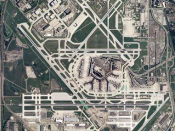 English: Satellite image of Chicago O'Hare International Airport