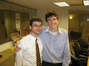 Me and Jack the intern from NCTE