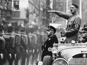 Deutsch: Gottfried Feder und Adolf Hitler 1919