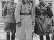 Common parade of Wehrmacht and Red Army in Brest at the end of the Invasion of Poland. At the center Major General Heinz Guderian and Brigadier Semyon Krivoshein.