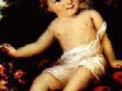 English: Allegra Byron Français : Clara Allegra (1817–1822), fille naturelle de Byron et de Claire Clairmont.