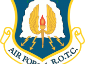 Emblem of the Air Force Reserve Officer Training Corps of the United States Air Force