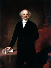 1858 portrait by GPA Healy, on display at the White House