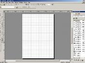 AutoSketch 9 running on Windows XP Professional