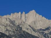 Mount Whitney from Whitney Portal Road, Lone Pine, California (4)