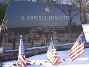 English: Christa McAuliffe Gravestone in Concord NH