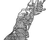 The 13 colonies in 1775