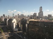 Downtown Buenos Aires, from the Sheraton Hotel.