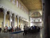 Santa Sabina all'Aventino, near the site of the election